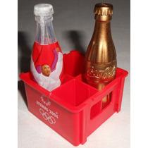 Coca-cola Mini Engradado Garrafas Olimpíadas Atenas2004 Lot2