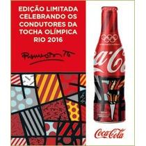 Garrafa Coca-cola Alumínio Romero Britto