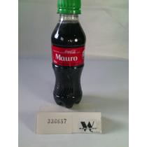 Garrafas Coca-cola / Pet Com Nome: Mauro