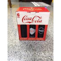 Kit 6 Garrafas Históricas Coca Cola Edição Limitada Promoção