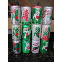 Lata Refrigerante Anos 80 - Seven Up / Sprite / Crush / Etc.
