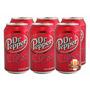 Refrigerante Dr Pepper - Cola Importado Caixa 06 Latas 355ml