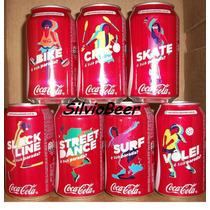 Coca Cola - Qual É Sua Parada - Set Completo - 7 Latas