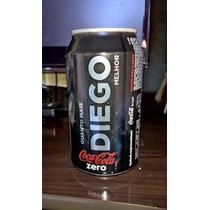 Coca Cola Zero Vazia Com Nome Diego