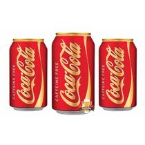 Coca-cola Sem Cafeina Coke Caffeine Free 03 Latas 355ml Eua