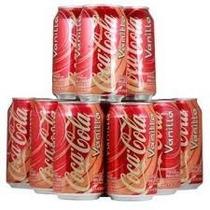 Coca Cola Vanilla Sabor Baunilha Caixa 06 Latas 355ml - Coke