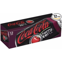 Coca-cola Cherry Zero - Cereja Caixa 06 Latas 355ml Coke Eua