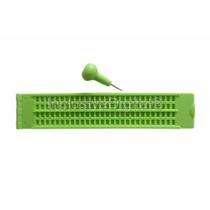 Reglete Tradicional Escrita Braille 28c ~ 4l Em Pvc + Punção
