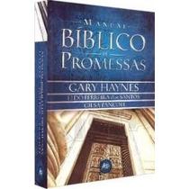 Manual Bíblico De Promessas - Super Promoção !!!