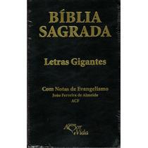 Bíblia Sagrada (evangélia) Letras Gigantes