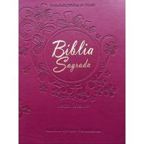Bíblia Sagrada Ra Letra Grande Gordita Uva