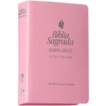 Bíblia Sagrada Harpa Cristã Letra Grande Rc