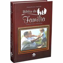 Bíblia Da Família Com Porta Retrato Personalizada Com Foto