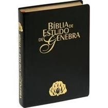 Bíblia De Estudo Genebra Luxo Preta Frete Grátis