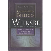 Novo Comentário Bíblico Wiersbe V. 1 Ant. Testam. Warren Vsa