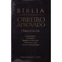 Bíblia Do Obreiro Aprovado Cpad Media - Preta C/harpa