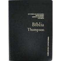 Bíblia Thompson - Capa Luxo