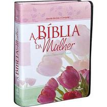 A Bíblia Da Mulher - Leitura, Devocional, Estudo [rc] Grande