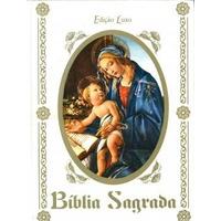 Bíblia Sagrada Edição Luxo Capa Branca Casamento, Noivado