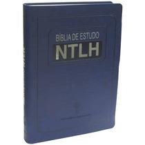 Bíblia De Estudo Ntlh Tamanho Grande 17x23,5 Frete Grátis