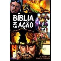 Bíblia Em Ação Quadrinhos Frete Grátis