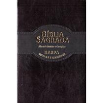 Bíblia Ultrafina Slim Rc - Harpa Avivada Corinhos | Preta