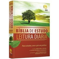 Bíblia De Estudo - Leitura Diária Em Promoção