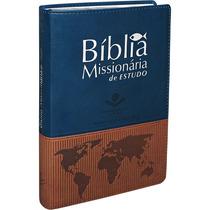 Bíblia Missionária De Estudo - Frete Grátis