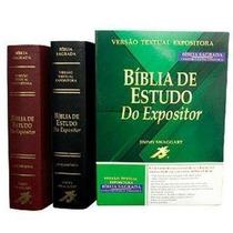 Bíblia De Estudo Do Expositor Luxo Pronta Entrega!!!!