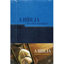 Bíblia De Estudo Cronológica - Capa Luxo Bícolor - Oferta!