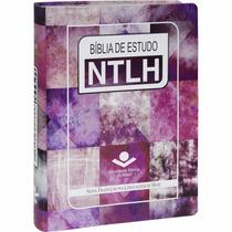 Bíblia De Estudo Ntlh - Capa Feminina - Frete Grátis