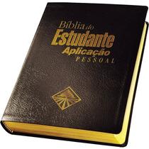 Bíblia Do Estudante Aplicação Pessoal Capa Preta