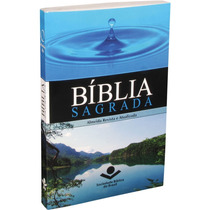 Bíblia Sagrada Brochura Grande - Ótima Para Evangelismo