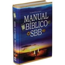 Manual Bíblico Sbb - Capa Dura Ilustrada