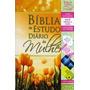 Bíblia De Estudo Diário Da Mulher - Frete Grátis