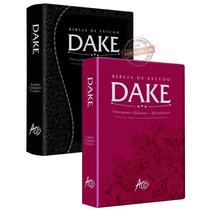 Kit Com 2 Biblias Dake 2015 Luxo C/ Dicionário Enciclopédico