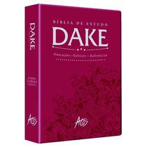 Bíblia De Estudo Dake Nova Edição Com Dicionário Bíblico