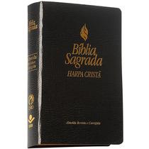 Bíblia Sagrada Almeida Rc Com Harpa - Frete Grátis - Média