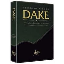 Bíblia De Estudo Dake Bicolor Nova Edição Dicionário Bíblico