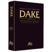 Bíblia De Estudo Dake Preta Nova Edição Dicionário Bíblico