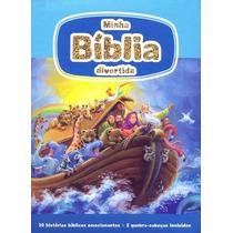 Bíblia Infantil Com Quebra-cabeça