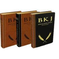 Menor Preço Do Ml. Bíblia De Estudo King James -letra Grande