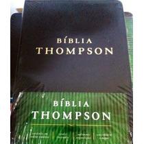 Bíblia De Estudo Thompson Capa Luxo Tradicional Preta
