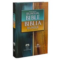 Bíblia Sagrada Bilingue Português - Inglês - Capa Dura Sbb