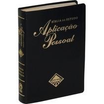 Bíblia De Estudo Aplicação Pessoal Grande Luxo