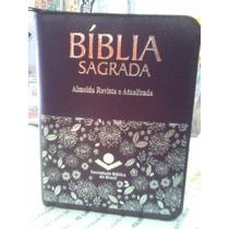 Nova Bíblia Sagrada Pequena Roxa