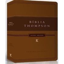 Biblia De Estudo Thompsn Letra Grande Luxo Pu