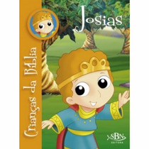 Livro-crianças Da Bíblia -josias
