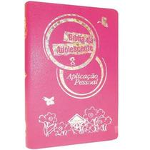 Bíblia Da Adolescente Aplicação Pessoal Capa Luxo