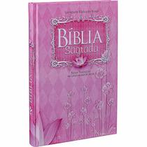 Bíblia Sagrada Feminina Grande Linguagem De Hoje - Rosa
